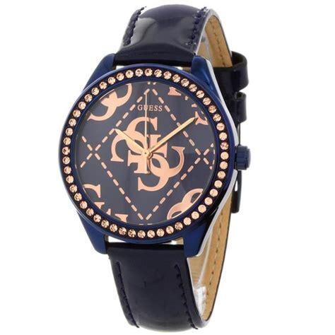 Guess W0025l3 montre guess femme so chic