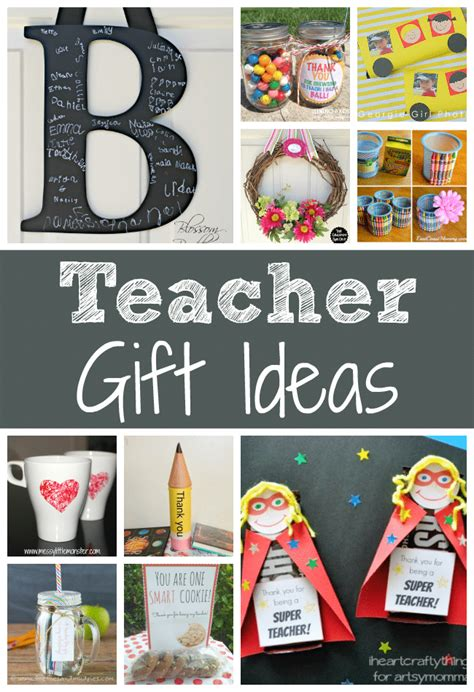 gift ideas for apprecation week and end of