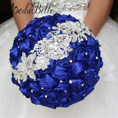 Where To Get Wedding Flowers by Get Cheap Royal Blue Wedding Flowers Aliexpress