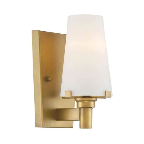 Gold Bathroom Vanity Lights Designers Hyde Park 1 Light Vintage Gold Interior Incandescent Bath Vanity Light 87901
