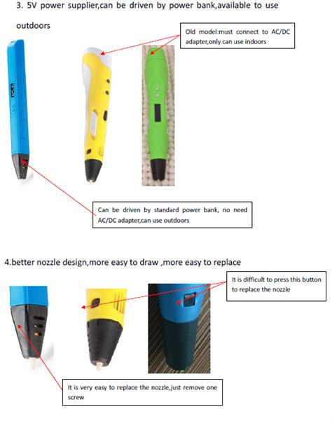 Limaco Ultra Slim 3d Pen Printing Rp800a With Oled Blue jer rp800a 3d printing pen with test refill filament buy 3d printing pen 3d printing pen test