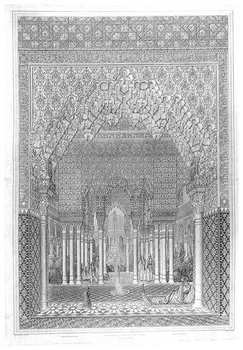 plans elevations sections and details of the alhambra 004 sala de la barca bendicion plans elevations sectio