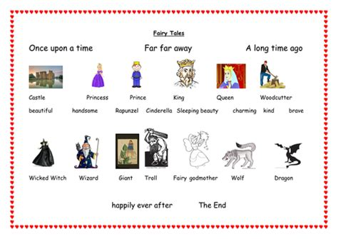 Tale Word Mat by Tales Word Mat By Essc Teaching Resources Tes