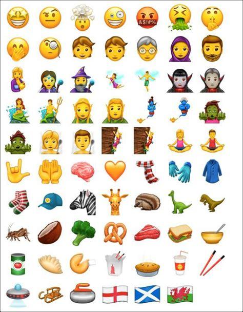 emoji versions 69 emoji baru akan dilancarkan pada june ini