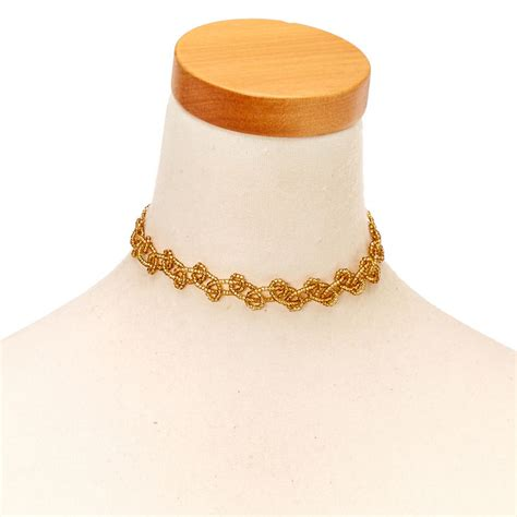 Bead Choker gold seed bead choker necklace s us