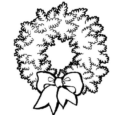 dibujos para colorear de coronas dibujo de corona de navidad para colorear dibujos net