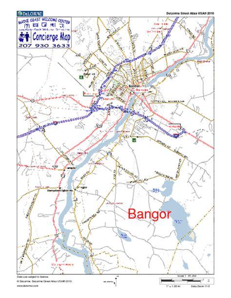 bangor maine map 29 map of bangor maine afputra