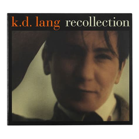 k d lang recollection cd drugs