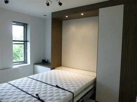 Bespoke cabinetry for folding beds   DIY Wardrobes