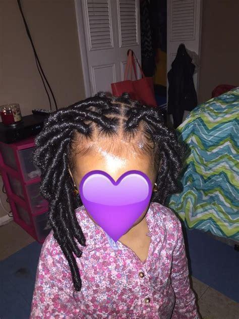 toddler  faux locs sparks twitter debate black hair