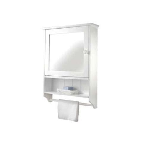 croydex hamble white wood mirrored bathroom cabinet