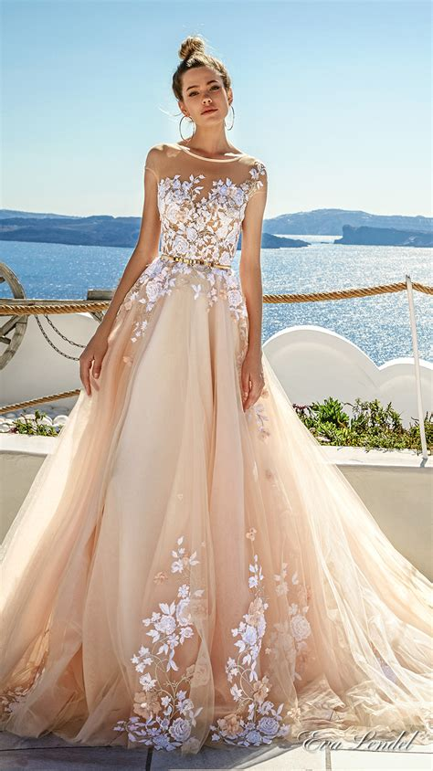 Beautiful Bridal Gowns by Lendel 2017 Wedding Dresses Santorini Bridal