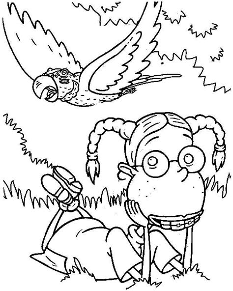 90s cartoons coloring pages az coloring pages nickelodeon color pages az coloring pages
