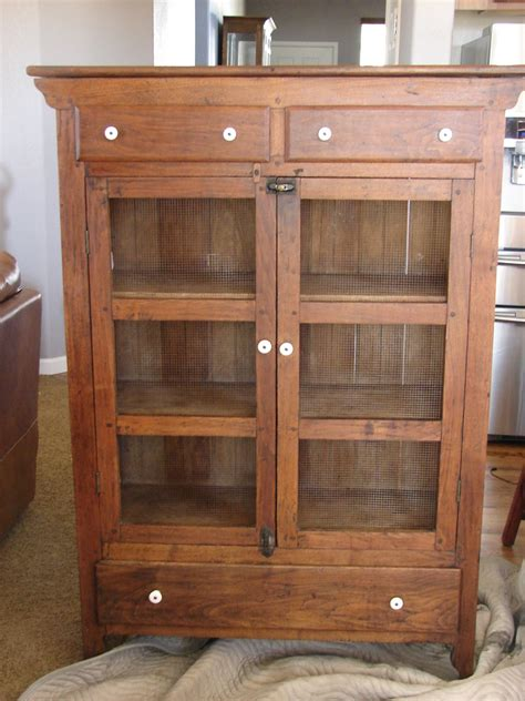 My first Antique Pie Safe   Collectors Weekly