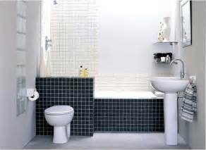 Small Black And White Bathroom Ideas Black And White Tile For Small Bathroom Home Interiors