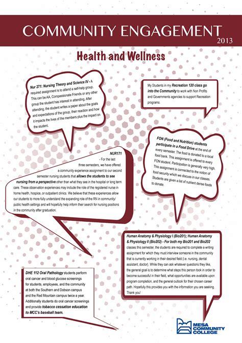 our health educators 171 social health association engagement posters community civic engagement mesa