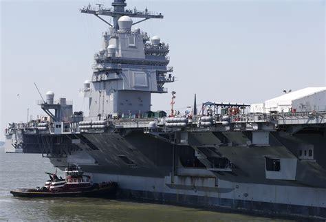 gerald ford class uss gerald r ford cvn 78 aircraft carrier us navy