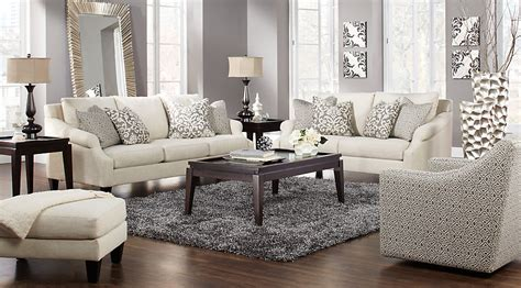 rooms to go chairs regent place beige 5 pc living room living room sets beige