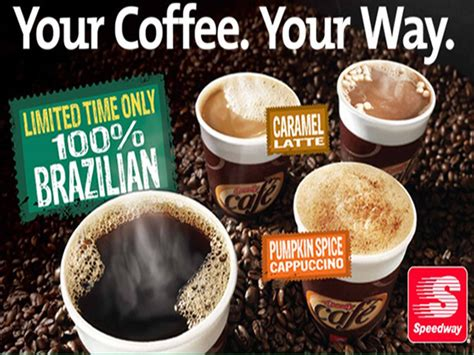 Sweepstakes Ending Tonight - image gallery speedway coffee
