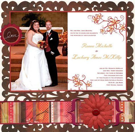 wedding scrapbook layout titles layout wedding album title page scrapbooking wedding
