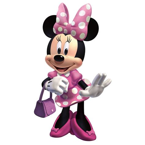 Minnie Mouse minnie mouse pink dress clip quotes