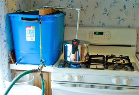 how to make a homemade water distiller only ed
