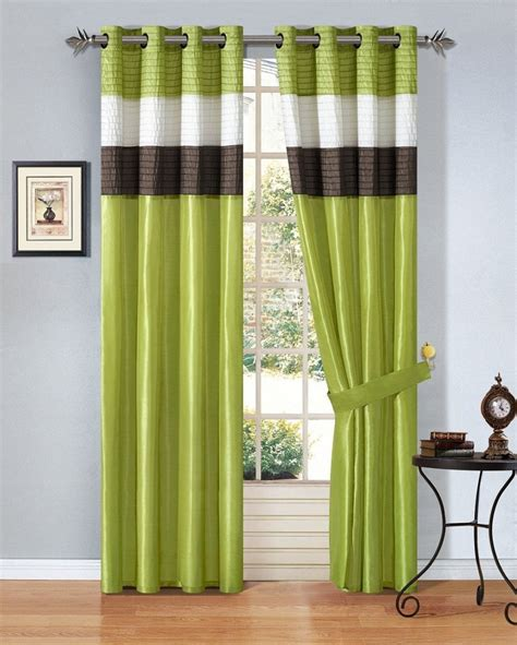 Green Striped Curtains Inspiration Choosing Curtain Designs Think Of These 4 Aspects Inspirationseek