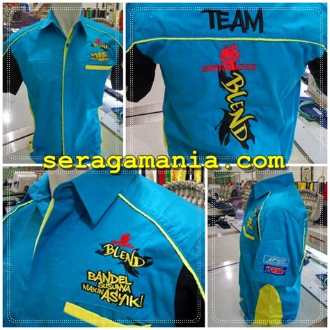 Kemeja Club by Kemeja Club Otomotif Mutiah Laksana Sport