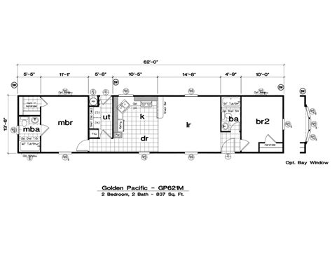 1999 fleetwood mobile home floor plan cool home