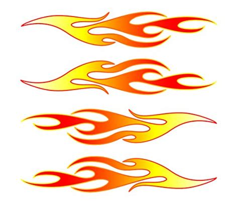 Fahrrad Aufkleber Flammen by Car Decals Www Pixshark Images Galleries