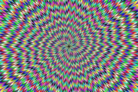 L Illusion by 20 Illusions D Optique Hallucinantes Intox Tv Intox Tv