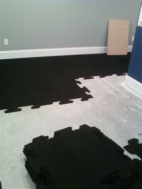 Rubber Flooring For Basement Interlocking Rubber Floor Mats Keystone Remodeling Basements Kitchen Baths
