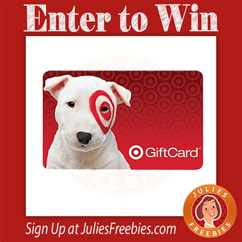Enter To Win A Target Gift Card - win a 200 target gift card julie s freebies