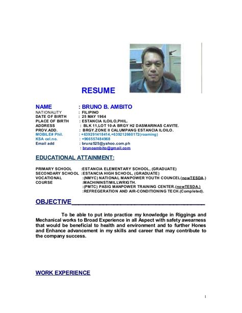 resume update website resume 2015 update word bruno b ambito resume new update doc doc 2