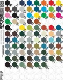 tamiya paint amp colour charts enamel acrylic