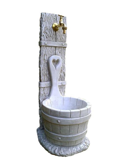 rubinetti per fontane da giardino fontana grigia modello daniela quot 37x29x79 cm quot
