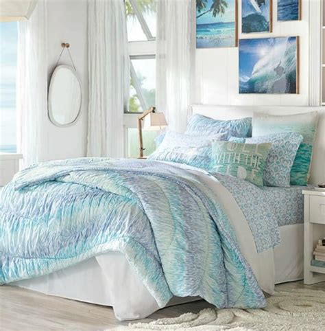 ocean bedrooms beachy coastal bedrooms from pottery barn completely coastal