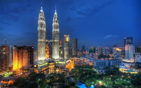 Kuala Lumpur petronas towers kuala lumpur