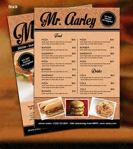 food menu template food menu template 35 free word pdf psd eps