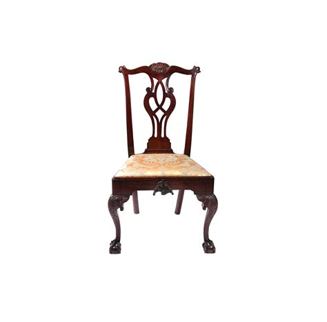 chippendale stuhl walnut chippendale side chair hlchalfant