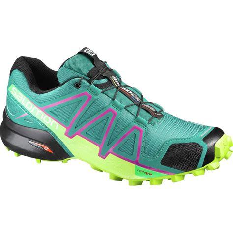 trail running shoes salomon salomon speedcross 4 trail running shoe s