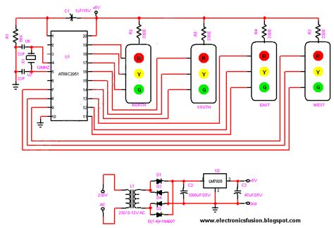 Traffic Light Controller by Electronics Fusions Traffic Light Controller
