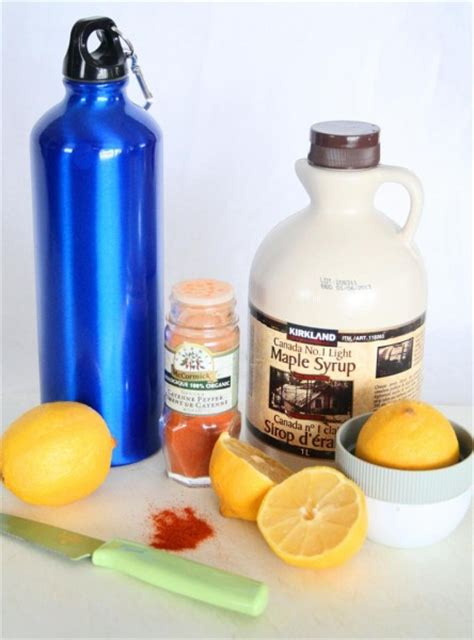 Master Cleanse Lemonade Water Detox Diet by Master Cleanse Colourful Palate