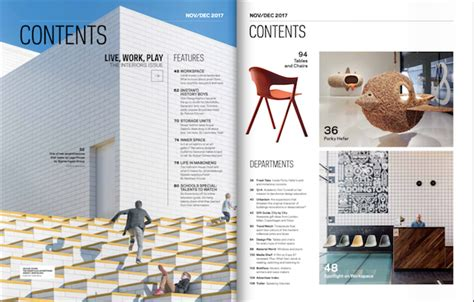 Design A Creative Table Of Contents Exles And Templates Magazine Table Of Contents Template