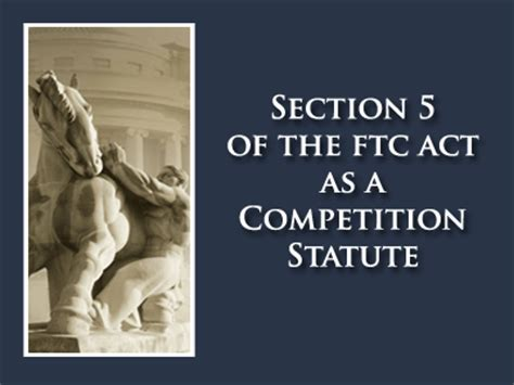 section 5 federal trade commission act section 5