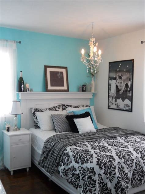 tiffany blue bedroom decor aqua white and black bedroom
