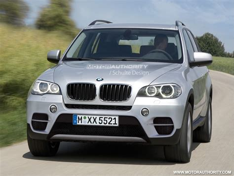Bmw X5 2011 by Rendered 2011 Bmw X5 Facelift