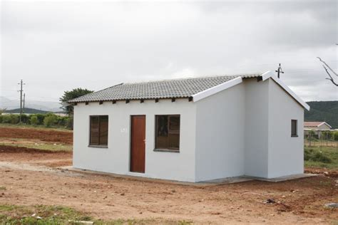 How Much Would It Cost To Build A House kouga local municipality s hankey rdp housing project back