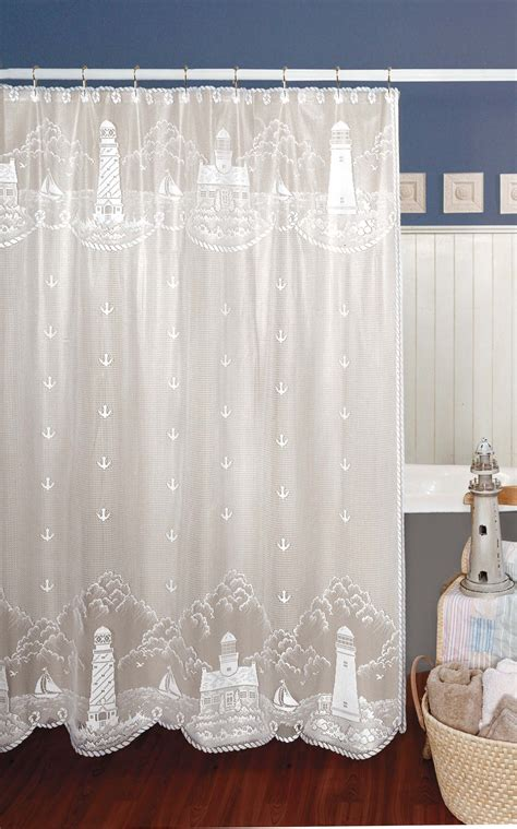 Lighthouse Shower Curtains Lighthouse Curtain Shower Curtain