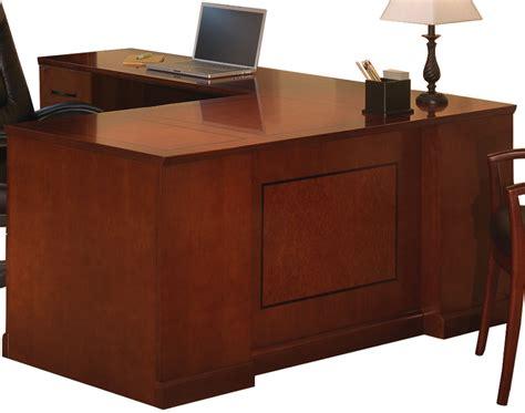 Of Front Desk Executive by Sorrento Desk Series Bow Front Pedestal Desk